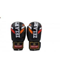 Перчатки боксерские Zel PU ZB-4276, 12817, ZB-4276-B,ZB-4276-R,ZB-4276-BK, Zelart, Тренировочные перчатки