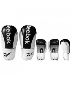 Перчатки боксерские Reebok BO-3625, Кожа (10, 12 унций), , BO-3625, Reebok, Тренировочные перчатки