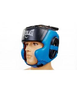 Шлем боксерский (в мексиканском стиле) кожа ELAST BO-5241