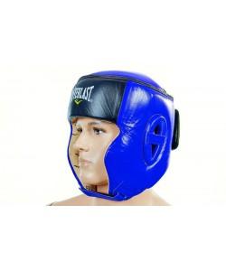 Шлем боксерский (в мексиканском стиле) кожа ELAST VL-6147