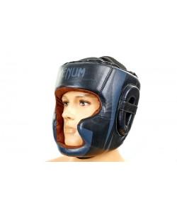 Шлем боксерский (с полной защитой) кожа VENUM BO-5239, , BO-5239, Venum, Шлемы для единоборств