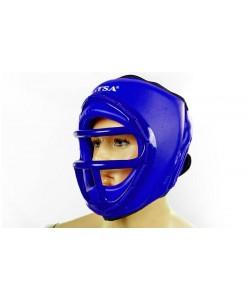 Шлем для единоборств (с маской) PVC MATSA ME-0133, , ME-0133, MATSA, Шлемы для единоборств