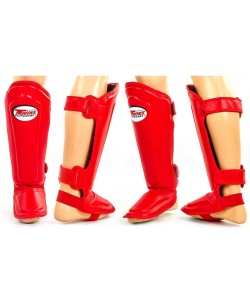 Защита для ног (голень и стопа) MMA Кожа TWINS SGL-10-BU, , SGL-10-BU, Zelart, Защита голени и стопы