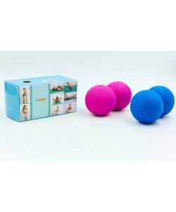 Массажер для спины Zelart Massage Ball (FI-6909), , FI-6909, Zelart, Массажный мячик для ног и рук