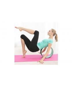 Колесо-кольцо для йоги и фитнеса 32х13см Zel Fit Wheel Yoga (FI-7057), , FI-7057, Zelart, Кирпич и колесо для йоги