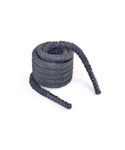 Канат для кроссфита из полипропилена в защитном рукаве 38 мм 12м Zel BATTLE ROPE (FI-5719-12), , FI-5719-12, Zelart, Аксессуары для шведских стенок