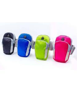 Чехол-кошелек для телефона на руку для бега 18х11х3см Zel (GA-6385), , GA-6385, Zelart, Сумки женские