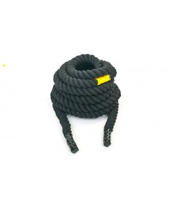 Канат для кроссфита из хлопка 40мм 12м UR COMBAT BATTLE ROPE (R-6228-12), , R-6228-12, UR, Аксессуары для шведских стенок
