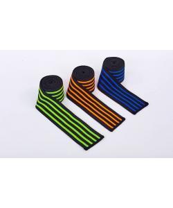 Бинты на колени для приседаний (1шт) 2.2 м Zel (TA-312), , TA-312, Zelart, Аксессуары для бокса и единоборств