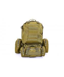 Рюкзак тактический (туристический) рейдовый 50х34х15см V-55л Zel (TY-213), , TY-213, Zelart, Рюкзаки