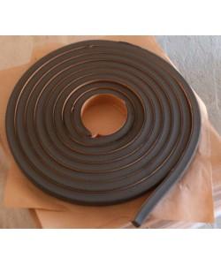 Бентонитовый шнур (лента) ГИДРОСТОП, , Бентонитовый шнур, сечение 15*25мм., 5п.м., БудОпт™, Гидроизоляция