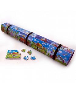 Детский игровой развивающий коврик Мультфильм 190х95см