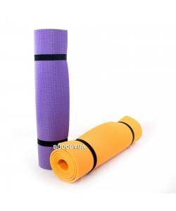 Коврик (каремат) для йоги, фитнеса и спорта Комфорт