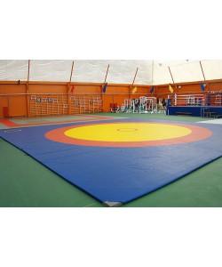 Борцовский ковер олимпийский для борьбы, дзюдо
