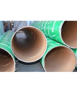 Картонная опалубка колонн 225мм, 3метра, , Одноразовая картонная опалубка 225 3 м., БудОпт™, Опалубка колонн