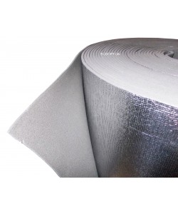 Изолон фольгированный 10мм химически сшитый (ISOLON 300 LA, 3010)