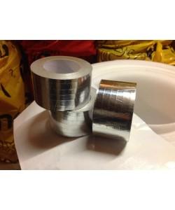Скотч армированный алюминиевый 100мм * 30м.п., 1456, Cкотч армированный алюминиевый, 100мм*30п.м., ONEFLEX, Аксессуары для монтажа вспененного каучука