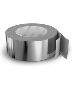 Алюминиевая клейкая лента 60041S (48ммx50м), 11887, Лента 60041S, БудОпт™, Скотчи
