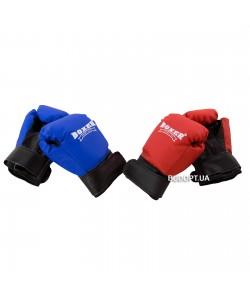 Детские перчатки для бокса из кожвинила Boxer 4 унций (bx-0037), , bx-0037, Boxer, Тренировочные перчатки
