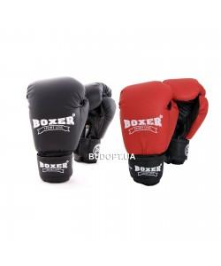Детские боксерские перчатки из кожвинила Boxer 6 унций (bx-0021)