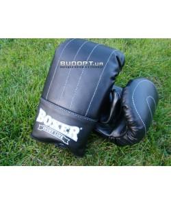 Перчатки Тренировочные кожаные Boxer L (bx-0022), , bx-0022, Boxer, Снарядные перчатки