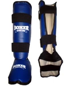 Защита голени и стопы из кожвинила Boxer L (bx-0049), 1553, bx-0049, Boxer, Защита голени и стопы