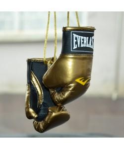 Боксёрские перчатки в машину (брелок, сувенир), 1576, Брелок перчатки Everlast, Boxer, Аксессуары для автомобиля