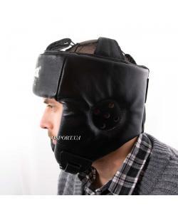 Шлем боксерский защитный кожаный Boxer М Элит (bx-0077), , bx-0077, Boxer, Защитная экипировка