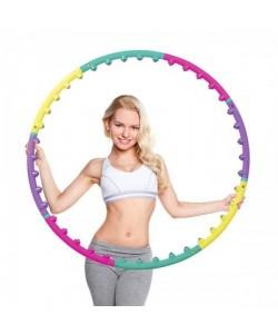 Обруч хулахуп массажный c шариками Hop-Sport (6008)