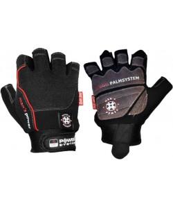 Перчатки для фитнеса Power System MAN'S POWER PS 2580 L, черно-серый