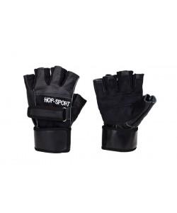 Перчатки для фитнеса Hop-Sport кожаные, , Hop-Sport, Hop-Sport, Спортивные перчатки
