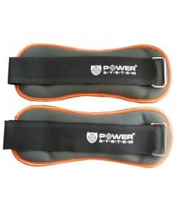 Утяжелители для ног ANKLE WEIGHT 0,5 kg PS-4045, 11809, PS-4045, Power System, Утяжелители