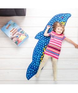 Массажный (ортопедический) коврик дорожка для детей с камнями Onhillsport Дельфин (MS-1216)