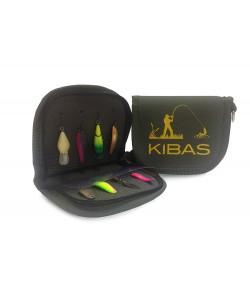 Чехол (кошелек) для блесен Kibas UL- S, , UL-S, Kibas, Сумки для рыбалки (снастей, катушек)