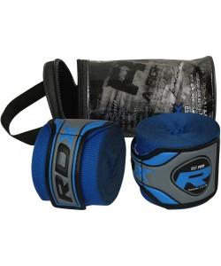 Бинты боксерские RDX Fibra Blue 4.5m, 10402, 10402, RDX, Боксерские бинты
