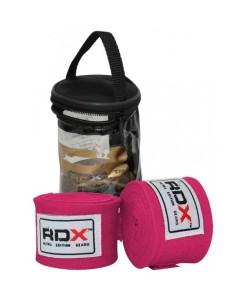 Бинты боксерские RDX Fibra Pink 4.5m, 10404, 10404, RDX, Боксерские бинты