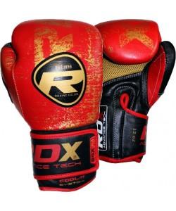 Боксерские перчатки RDX Ultra Gold Red, 10109, 10109, RDX, Боксерские перчатки