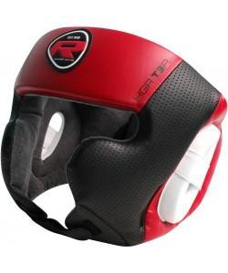 Боксерский шлем RDX Rex Leather Red, 10501, 10501, RDX, Шлемы для единоборств