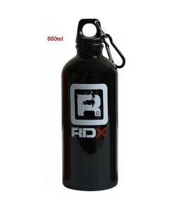 Бутылка для воды RDX Aluminium Black 600ml, 11593, 11804, RDX, Шейкер и бутылки для воды