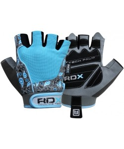 Перчатки для фитнеса женские RDX Blue, 20107, 20107, RDX, Спортивные перчатки