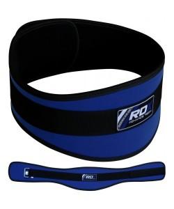 Пояс для тяжелой атлетики RDX Blue, 20402, 20402, RDX, Атлетический пояс