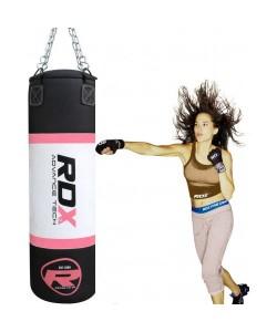 Боксерская груша RDX Pink 1.2м, 30-35кг, 11746, 30118, RDX, Боксерские груши, Мешки