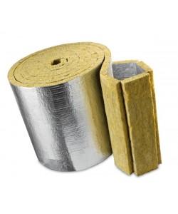 Базальтовая вата «Knauf Insulation LMF AluR», , Базальтовая вата «Knauf Insulation LMF AluR», БудОпт™, Базальтовая вата