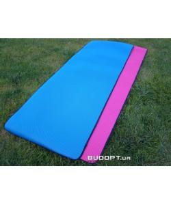 Коврик для йоги и фитнеса TPE+NY 5мм (FI-4531-BL)