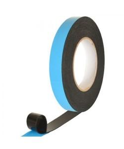 Скотч двухсторонний PE черный 1мм*25мм*10м Stenson (MH-0973), 30236, MH-0973, Stenson, Аксессуары для автомобиля