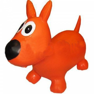 Попрыгун детский резиновый Собака BA-3004
