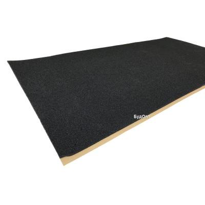 Шумоизоляция из вспененного пенополиуретана 100х50х1см SoundProOFF DAMPER Black 10