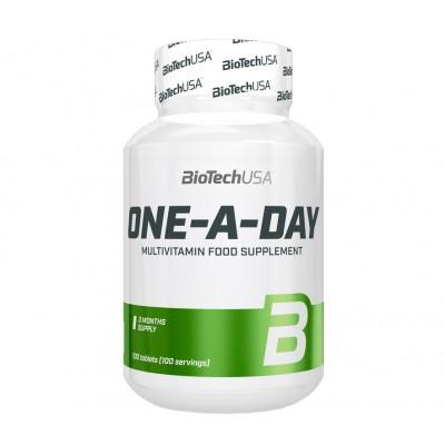 Комплекс витаминов и микроэлементов для спортсменов Multivitamin One A Day 100 таблет. Biotech USA (01112-01)