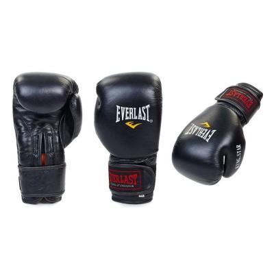 Перчатки боксерские кожаные Еverlast ВО-4748 (8-12 унций)