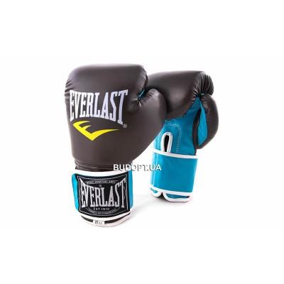 Перчатки боксерские PU на липучке ELAST BO-5032, 8-12OZ